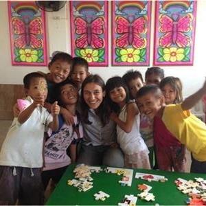 Noémie S aux Philippines